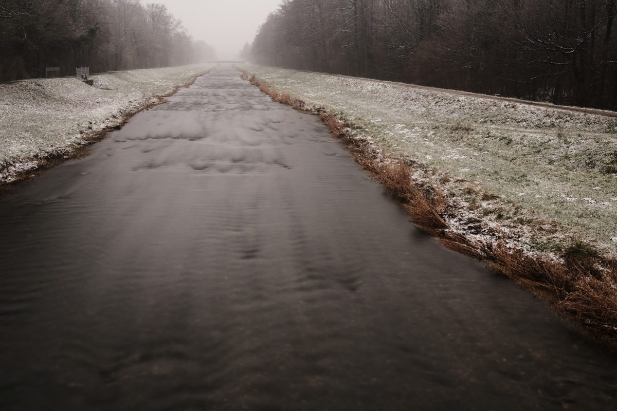Dreisam bei Hugstetten im Winter