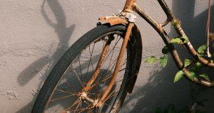 Ein altes Rad